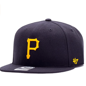'47 Brand - MLB Pittsburgh Pirates - Adjustable Black Snapback