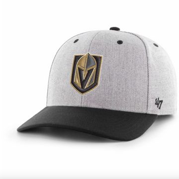 '47 Brand - NHL Vegas Golden Knights - Adjustable Grey / Black Cap