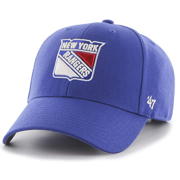 '47 Brand - NHL New York Rangers - Adjustable Blue Cap