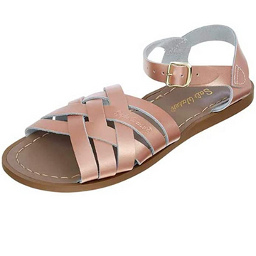 Salt Water Sandals - Retro Sandal - Rose Gold