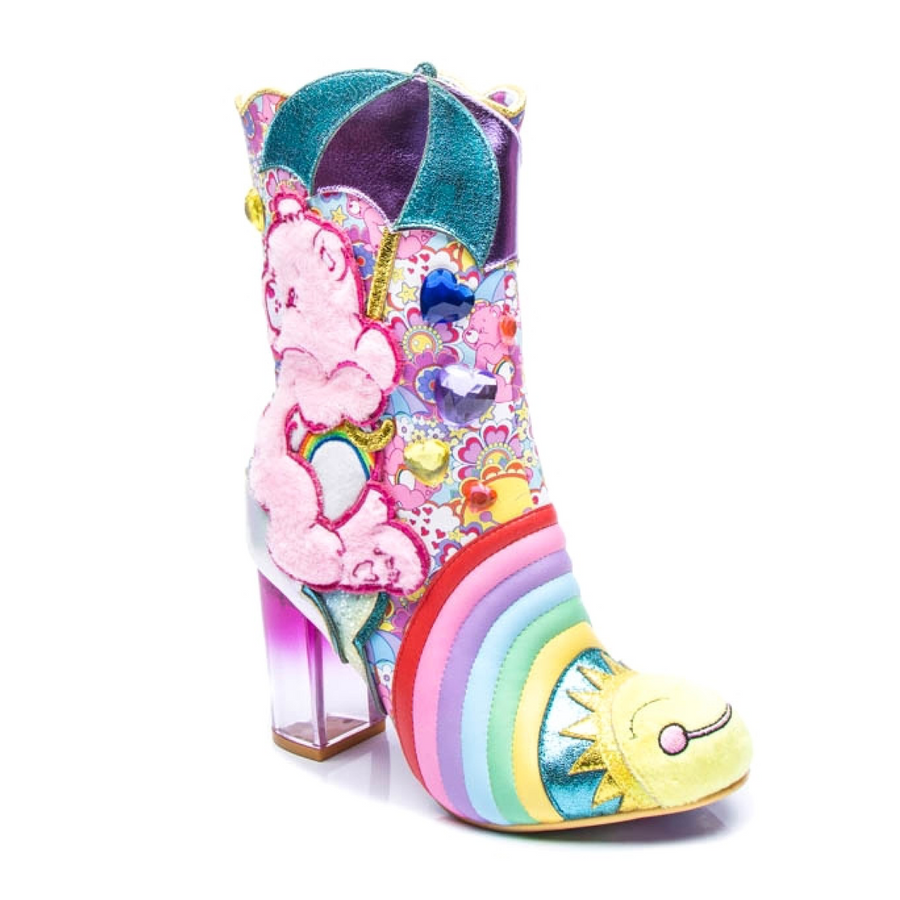 Irregular Choice - Full Of Cheer - Care Bears - Pink / Blue