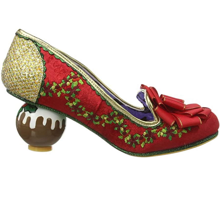 Irregular Choice - Love Pudding Christmas - Red