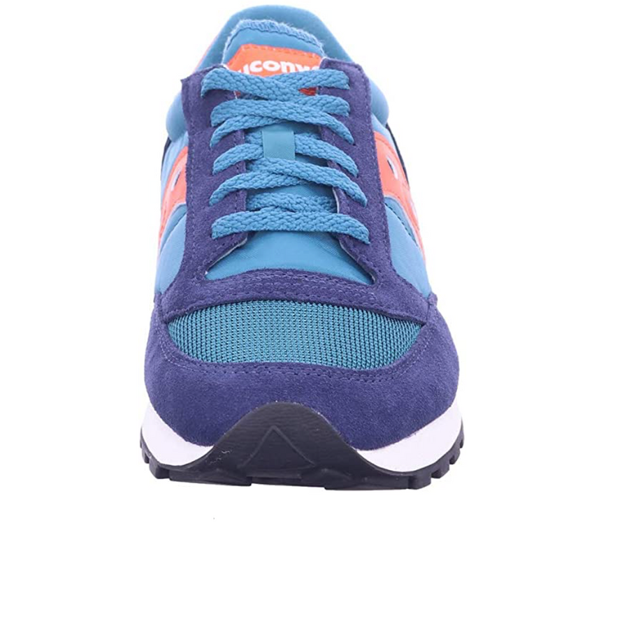 Saucony - Mens Trainers - Jazz Original - Vintage Peacoat / Teal Orange