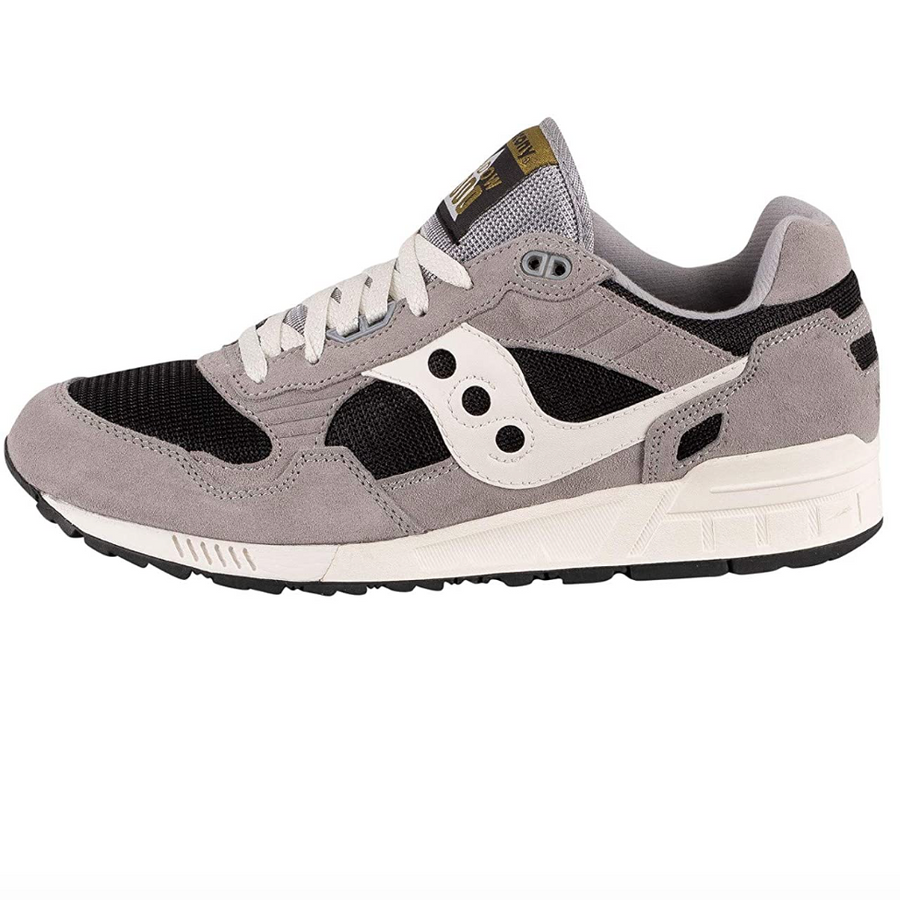 Saucony - Mens Trainers - Shadow 5000 - Grey / Limo