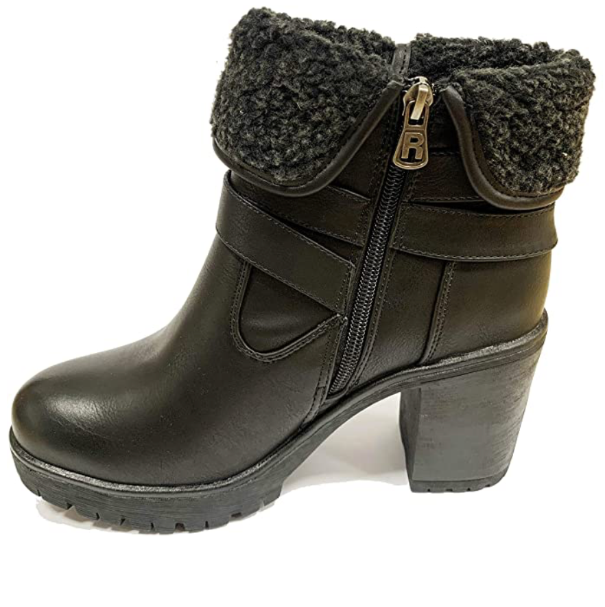 Refresh - 72578 - Faux Leather Ankle Boots