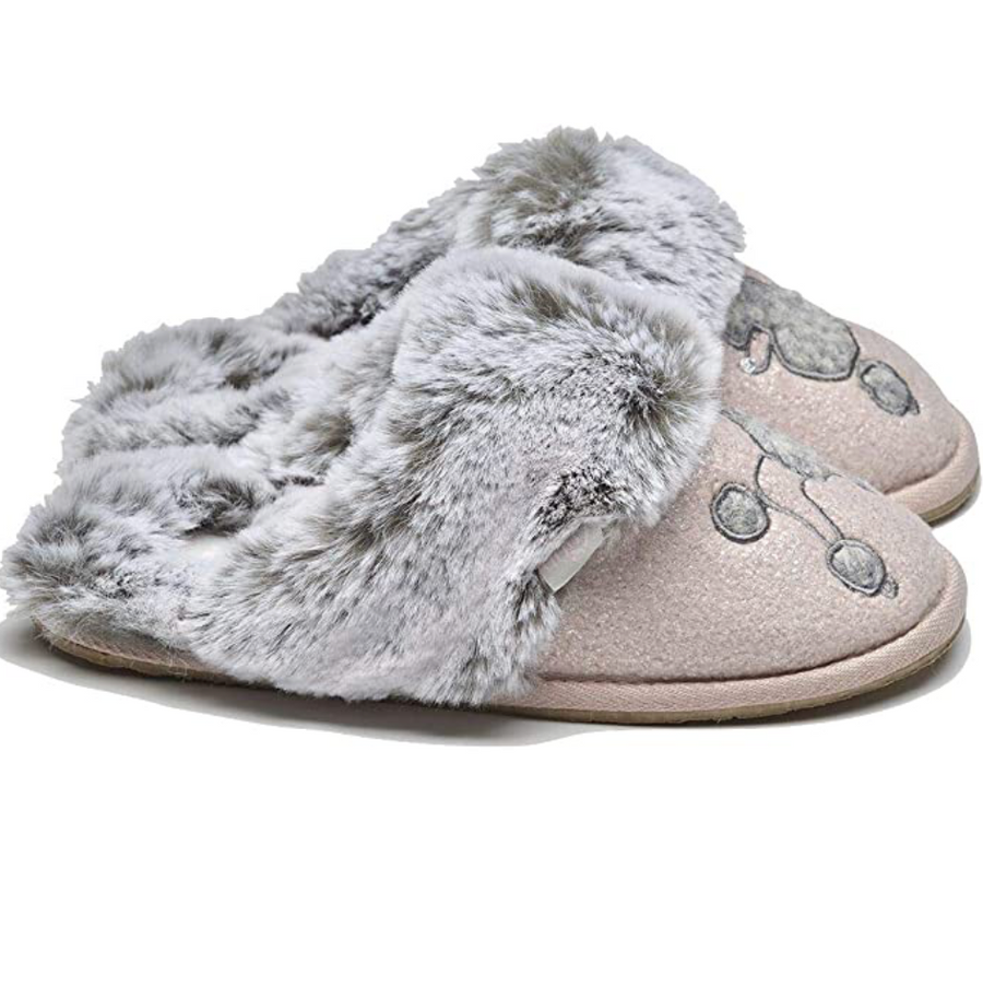 Lazy Dogz - Womens Slippers - Coco - Pink