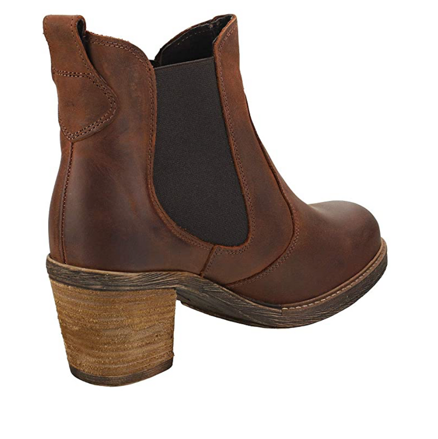 Oak & Hyde - East Chelsea Leather Ankle Boot - Brown