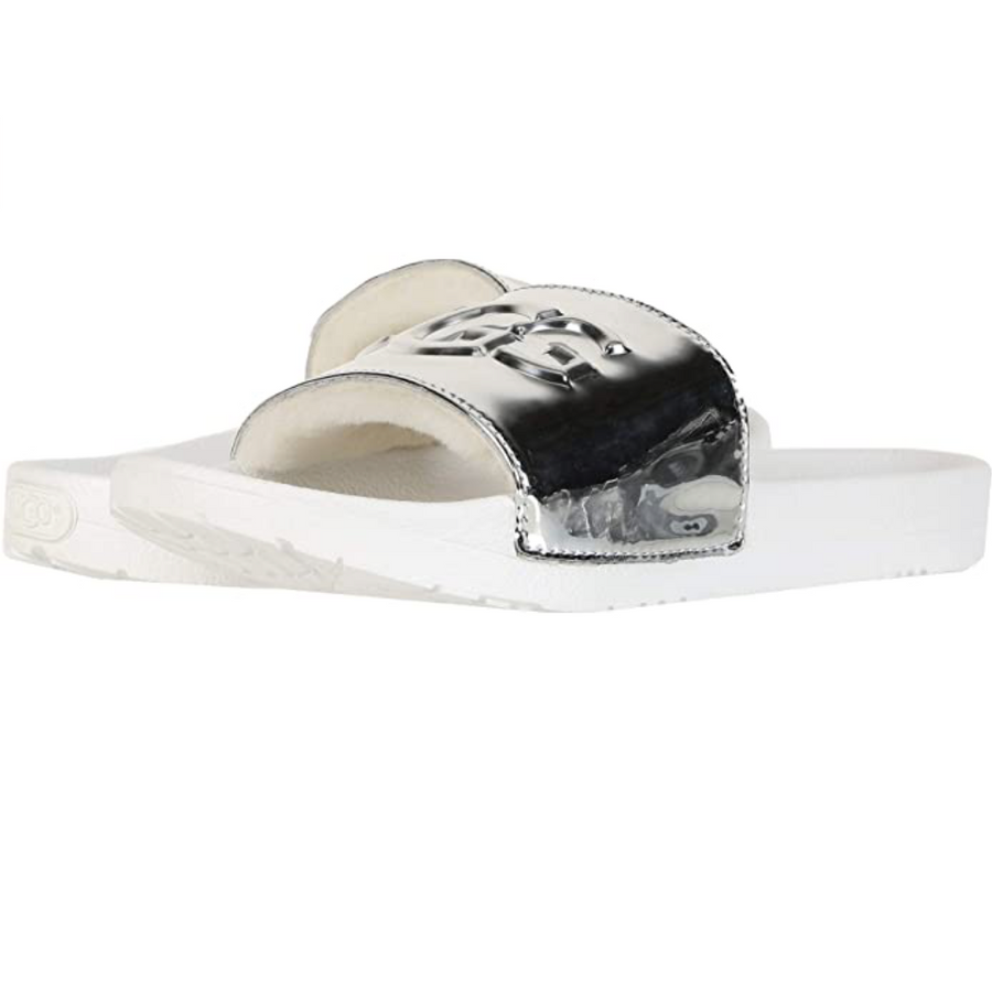 UGG-Royal-Graphic-Metallic-Silver-Sandals