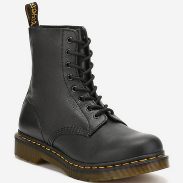 Dr Martens - 1460 Pascal Virginia  Black Leather