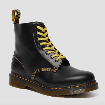 Dr Martens - 1460 Pascal Leather Boots - Dark Grey Atlas