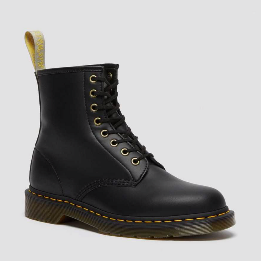 Dr Martens - Vegan 1460 - Felix Rub Off - Black