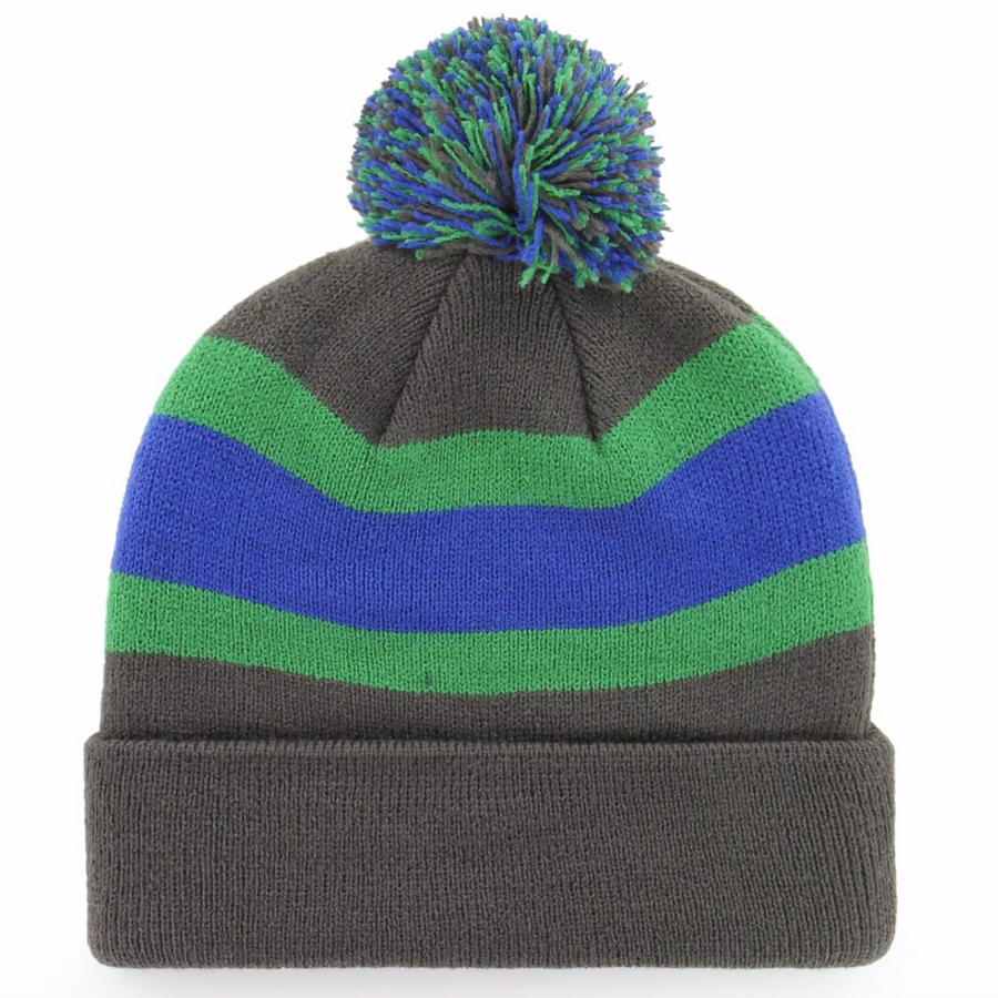 47 Brand - Vancouver Canucks Knit - Grey / Blue / Green
