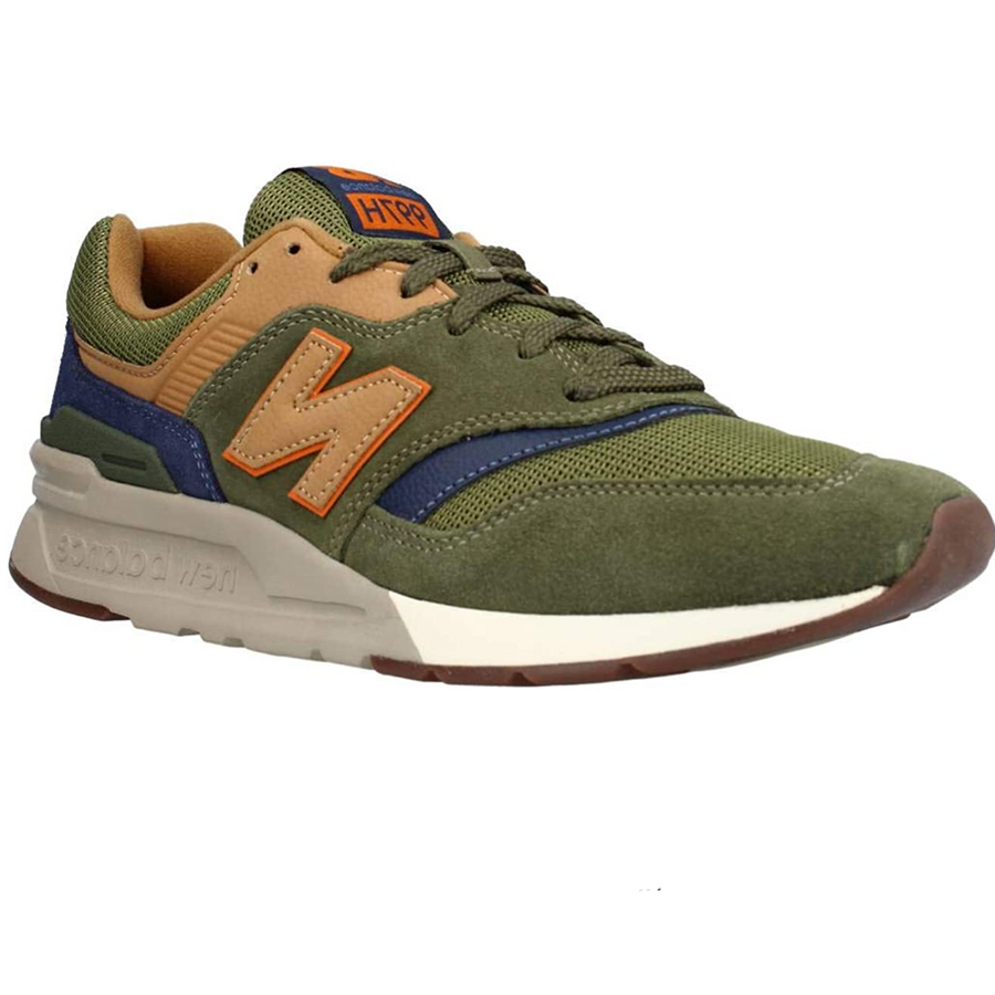 New Balance - Men's 997HFU Lifestyle Trainers - Dark Green