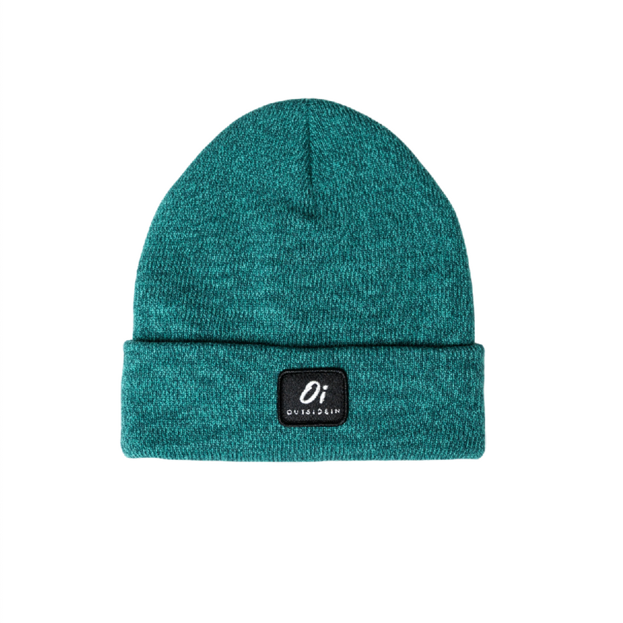 Outside In - Green Thermal Beanie