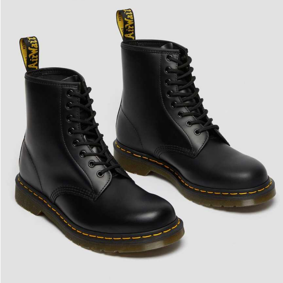 Dr Martens - 1460 Black Smooth Leather - Black