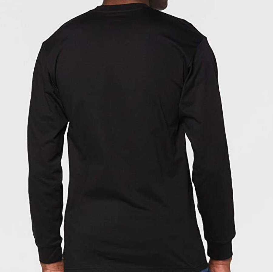 Vans - Men's Long Sleeve T-Shirt - Black / Water