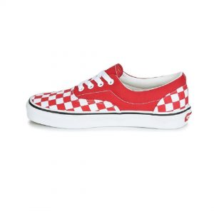 Vans-Era-Checkerboard-Racing-Red-Slip-On