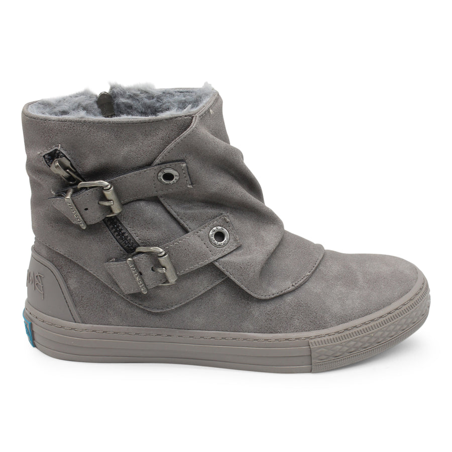 Blowfish - Koto Grey Ankle Boots - Moon Rock Highlife