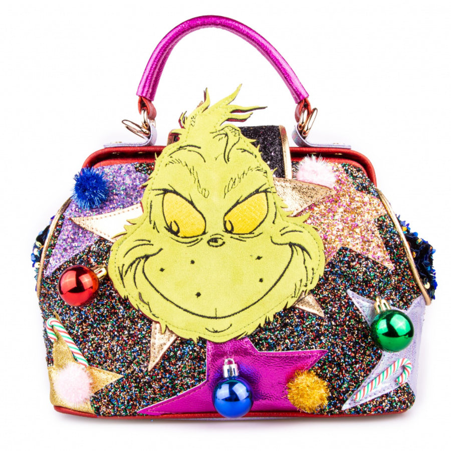 Irregular Choice - Vengeful and Mean Bag - The Grinch