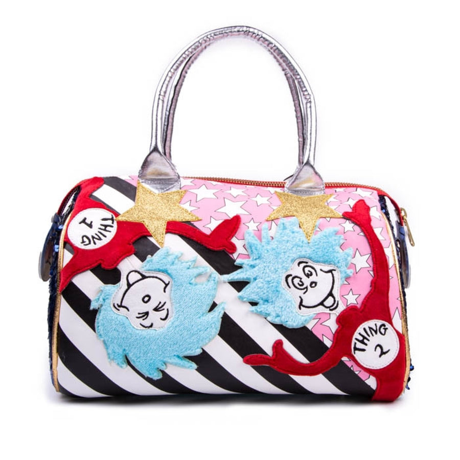 Irregular Choice - Live To Have Fun Bag - Cat In The Hat