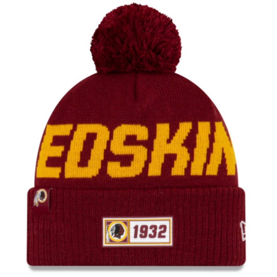 Washington Redskins Sideline Knit - New Era