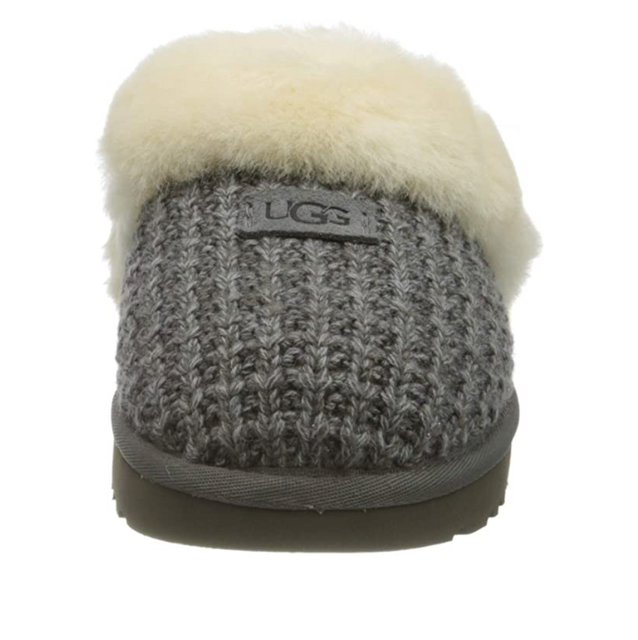 UGG - Women's Cozy Knit Slippers - Charcoal