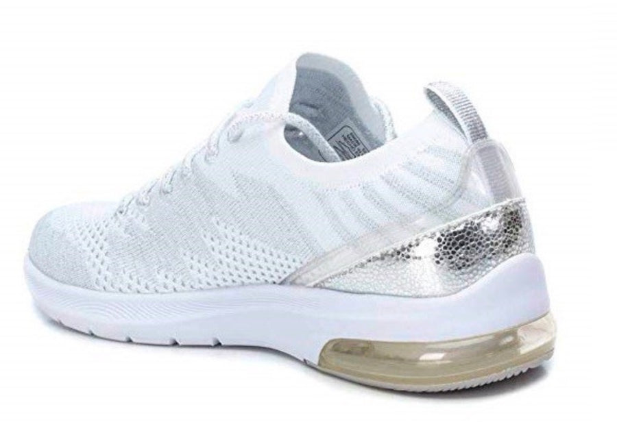 Refresh-69686 - Mesh Trainers - White / Silver