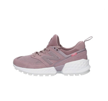 New-Balance-Women's-WS574TEA-Pink-Chunky Trainers