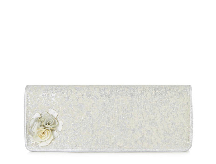 Ruby Shoo - London Clutch - Silver