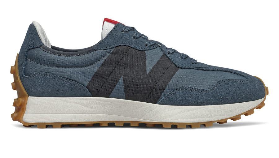 New Balance - Men's 372 Fashion Trainers - Navy / Black