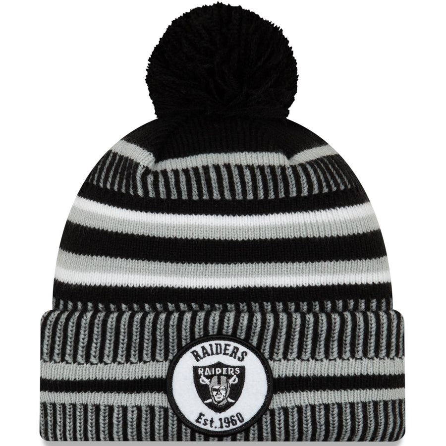Oakland Raiders On Field Knit - New Era