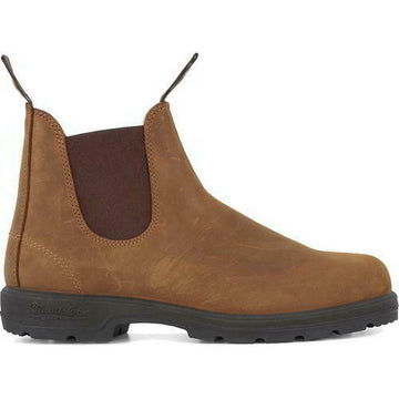 Blundstone Boots -562- Chelsea Boot - Crazy Horse - Brown