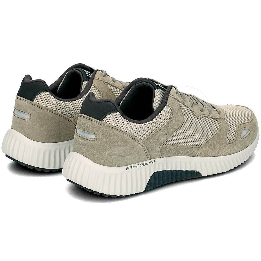Skechers-Paxmen-Olive-green-52518-Mens-Trainers