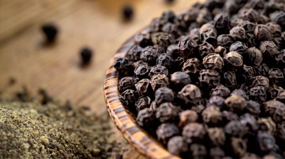 Black Pepper - a master spice from India