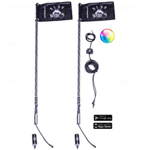 Load image into Gallery viewer, 2x 187 (Bluetooth) LED Whips 5150 Whips.