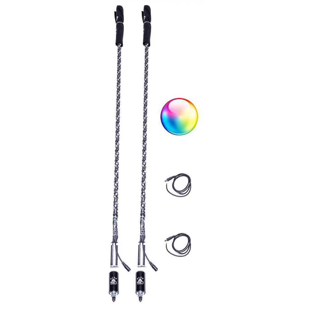 LED Whips 5150 Whips Bluetooth