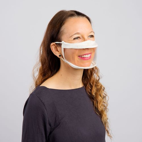 The use of clear masks, also known as communication masks, smile masks and transparent masks has greatly increased because of the barriers that cloth masks have caused for the deaf, hearing impaired and hard of hearing communities.