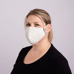2-Layer Cotton Mask With Filter Pocket/ Adults/ Works with our Washable Reusable Polypropylene Filters / Add 5 or more to your cart and save 20%