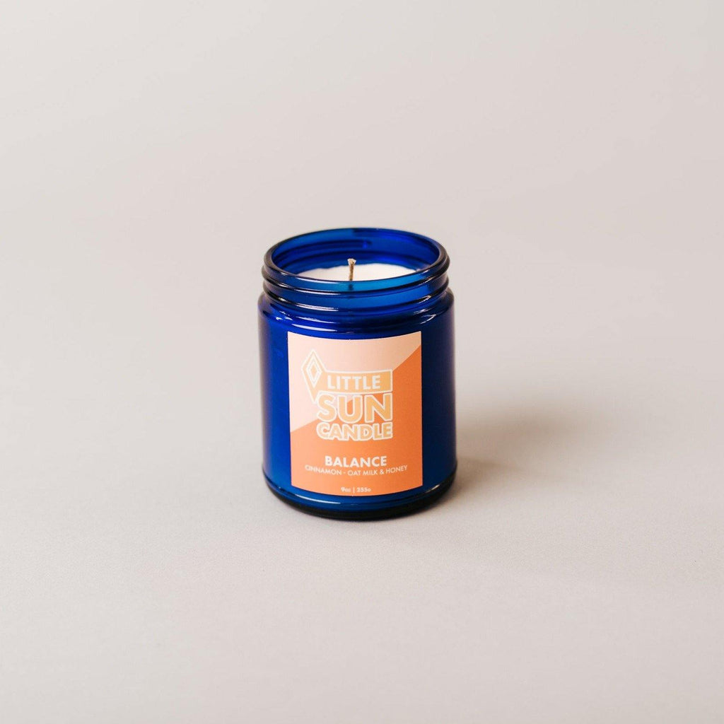 BALANCE Cinnamon + Honey Oat Milk Little Sun Candle - LITTLE SUN CANDLE