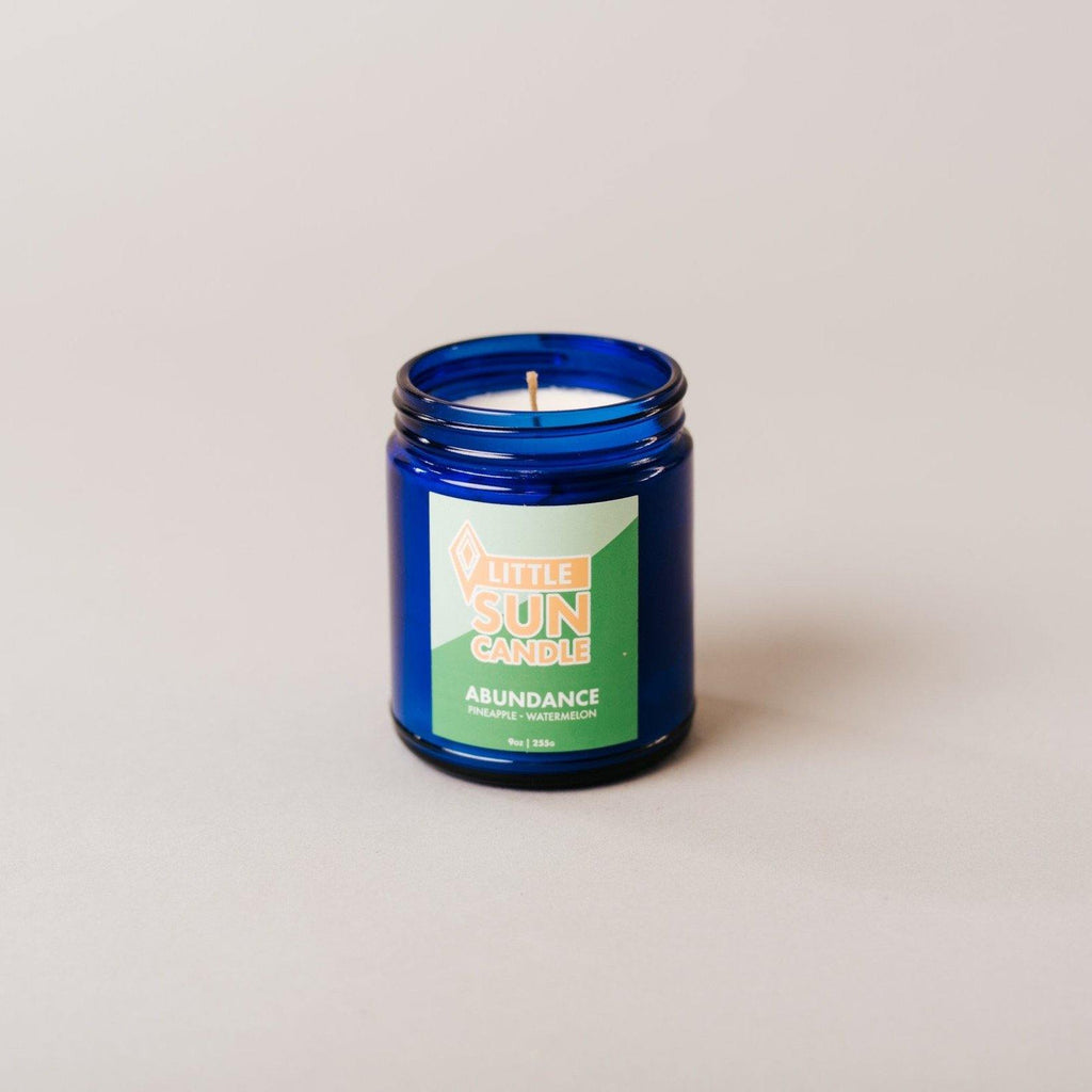 ABUNDANCE Pineapple + Watermelon Little Sun Candle - LITTLE SUN CANDLE