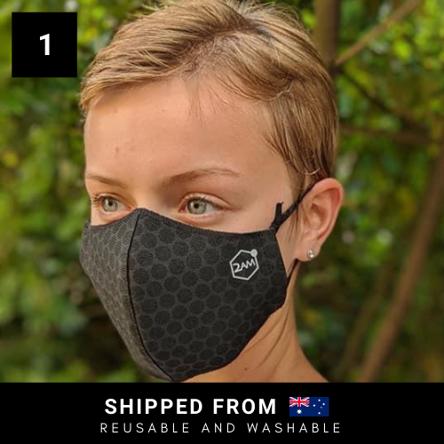 2AM Graphene-Enhanced Face Mask - 1 Mask