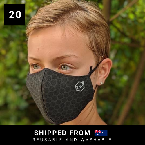 2AM Graphene-Enhanced Face Mask - 20 Masks
