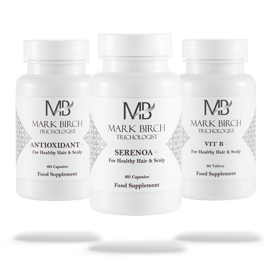 Supplement Bundle - for Healthy Body, Hair and Scalp