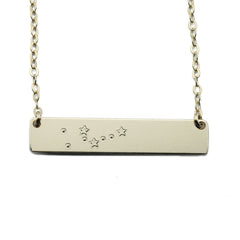 Constellation Nameplate Necklace