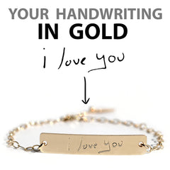 Custom Handwriting Bracelet