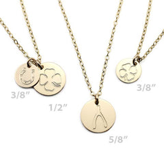 CUTE GOLD CHARM NECKLACE