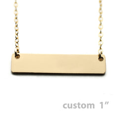 The Nameplate Necklace