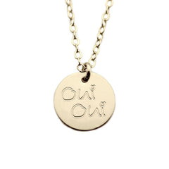 Custom Handwriting Multi Disc Necklace