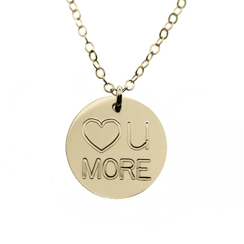 I Heart You More Necklace
