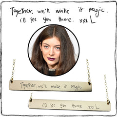 LORDE GOLD NECKLACE